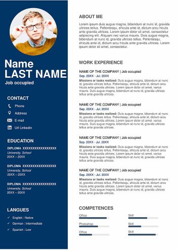 Resume Template Free Download 2020