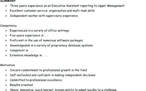 Work Experience Resume Definition