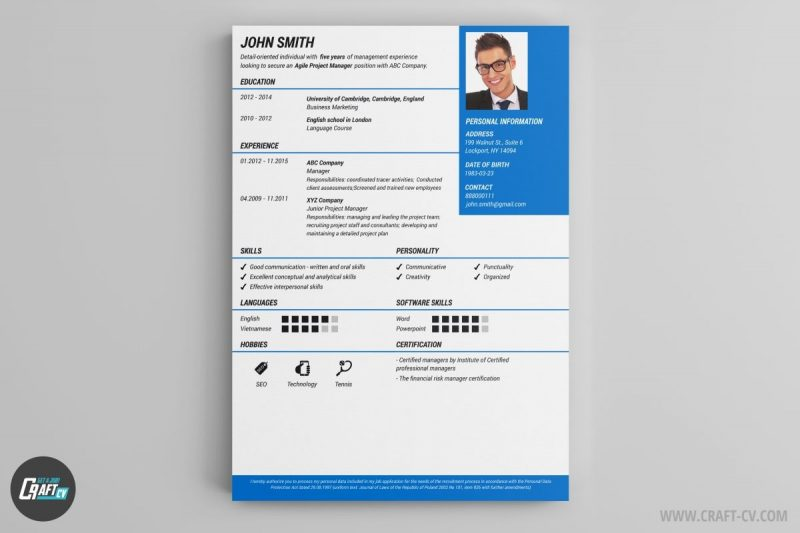 Resume Builder Online Free With Photo