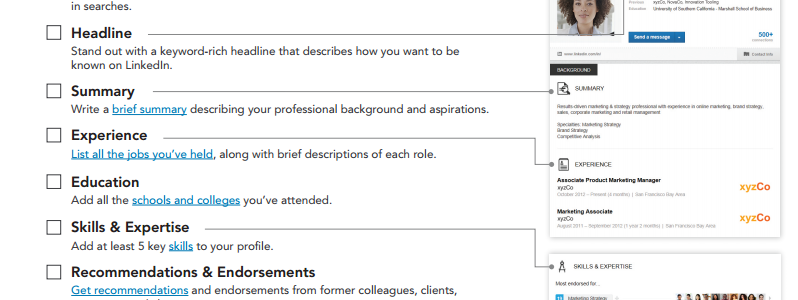 Linked In Job Search