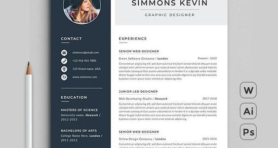 Resume Free Template Download Word