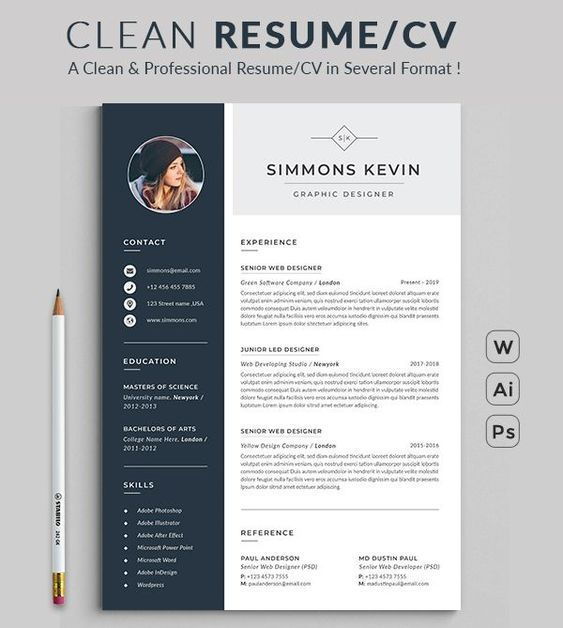 Free Resume Template Word Download