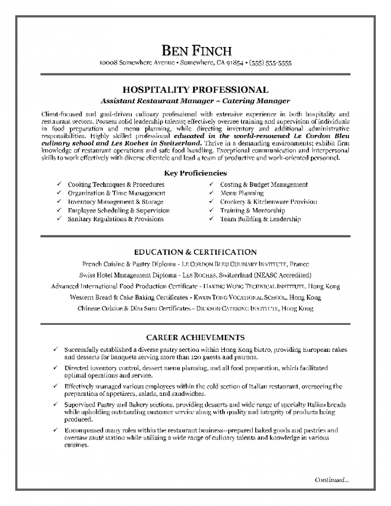 Resume Writing Certification Canada