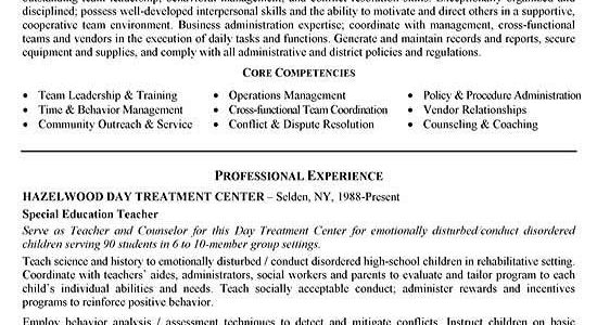 Functional Resume Examples For Career Change