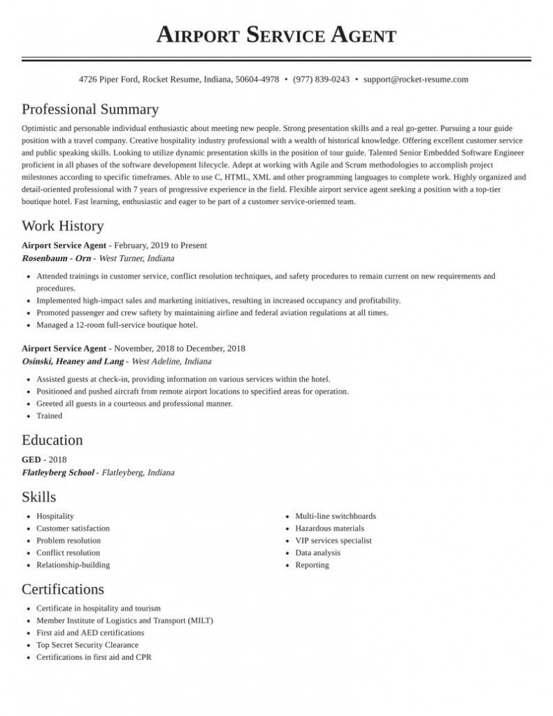 Rocket Resume Contact Number