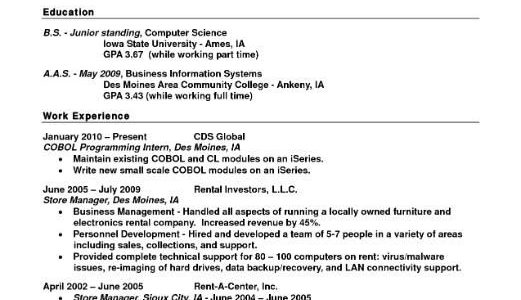 Resume Skills Examples For Multiple Jobs