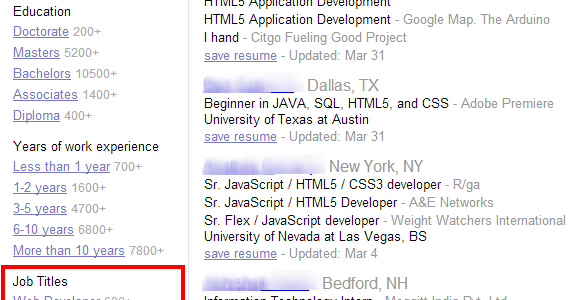Indeed Resume Search India