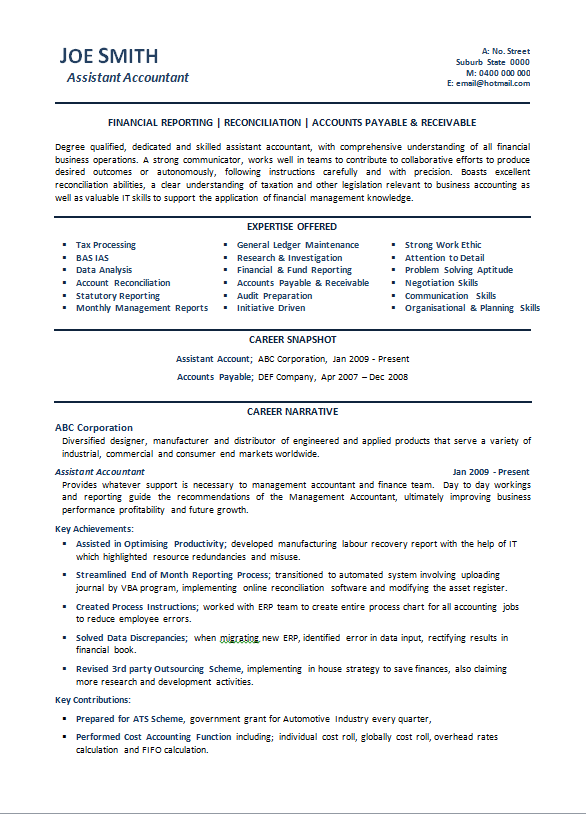 Resume Examples For Students Australia