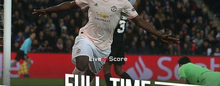Manchester United Vs Psg Highlights Today