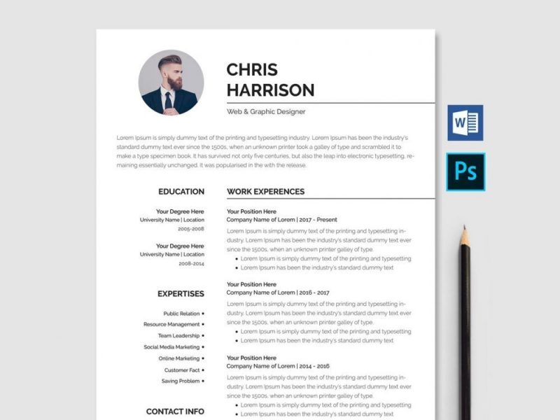 Good Resume Templates 2020