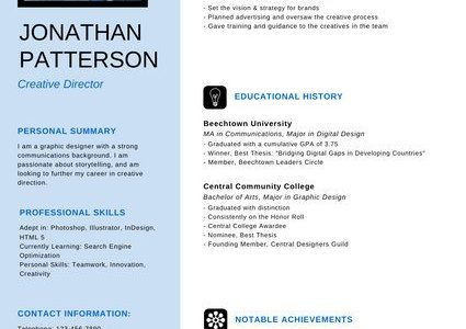 Linkedin Download Resume In English