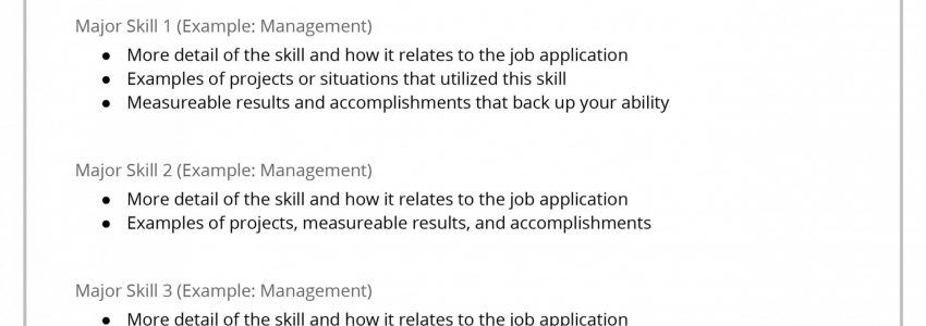 Functional Resume Definition Quizlet