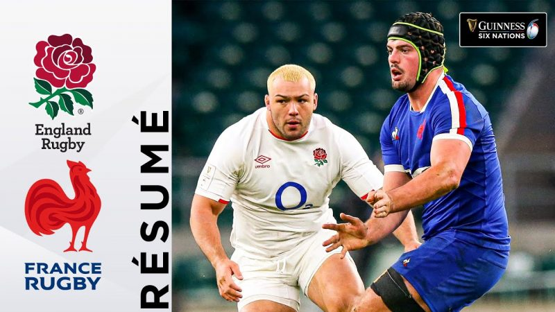 Resume France Angleterre 2020 Rugby