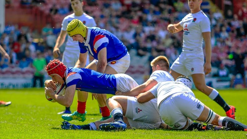 Resume France Angleterre Rugby 2019
