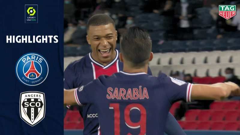 Resume Psg Angers Ligue 1